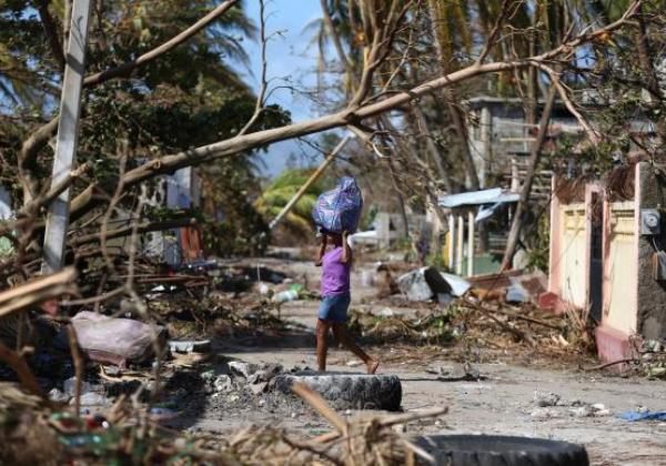 Haiti / Furacão (Foto: Orlando Barria/EPA/Agência Lusa/direitos reservados)
