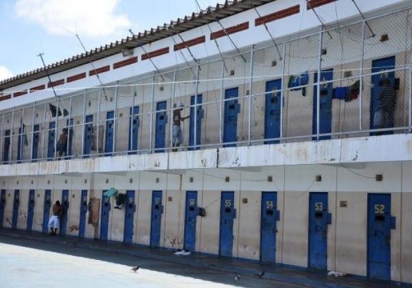 Penitenciária de segurança máxima de Dourados-MS (Foto: Maracaju em Foco)
