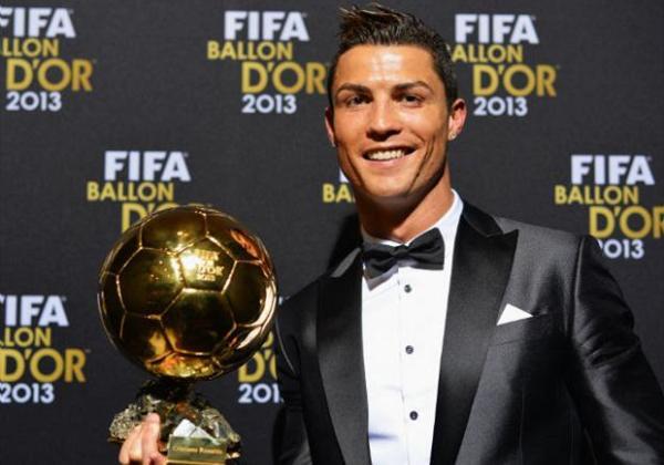 Cristiano Ronaldo foi eleito o melhor jogador do mundo pela 3ª vez em 2015. (Foto Reprodução Youtube)