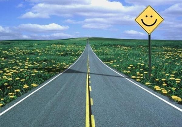 Estrada feliz (imagem ilustrativa) Foto: site Conexão D Jovens
