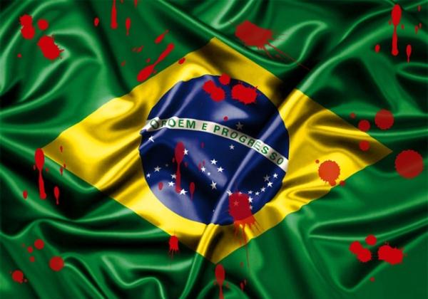 Imagem ilustrativa: homicídios Brasil (Foto: site Route News)