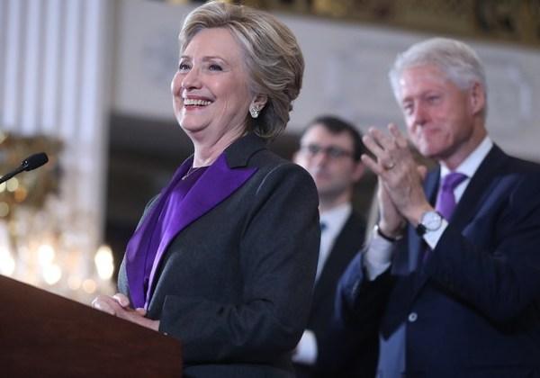 Hillary - discurso (Foto: AP)