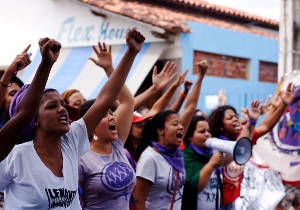 Mulheres luta (Foto: Marcha mundial das Mulheres)