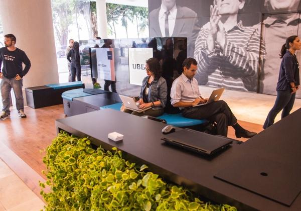 Lounge Uber Rio aeroporto (Foto: Divulgação / Uber)