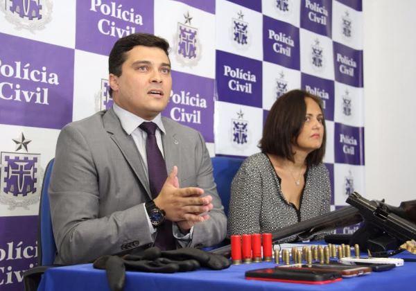 Delegado José Bezerra e delegada Jacqueline Gordilho /Divulgação