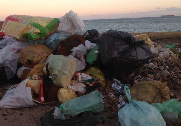 Material coletado na primeira etapa da ação (Foto: Divulgação/ Edgar Santos | Prefeitura de Vera Cruz)