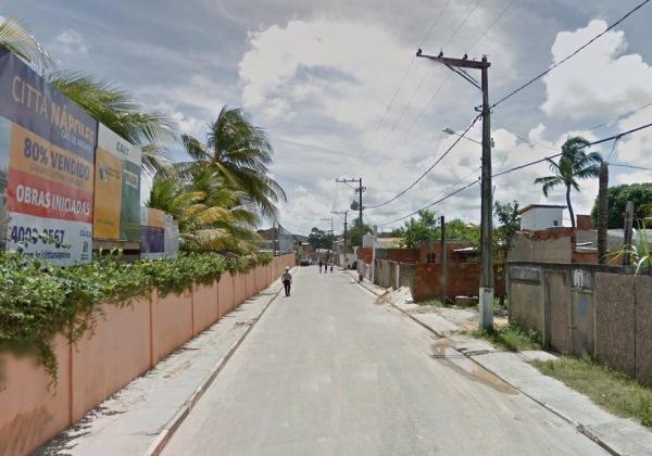 Imagem ilustrativa das imediações de onde o crime aconteceu (Foto: Google Street View)