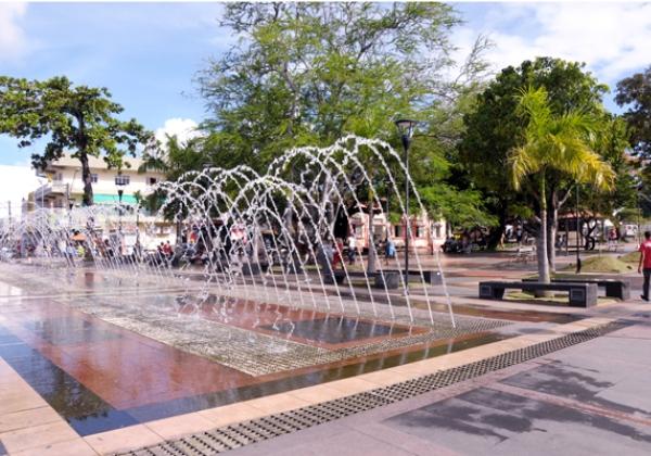 Imagem ilustrativa da Praça de Camaçari (Foto: Wendell Wagner/ Prefeitura Municipal de Camaçari)