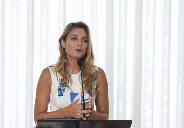 Brasília - A Primeira Dama Macela Temer durante reunião com as primeiras damas para apresentação e mobilização de açoês regionais do Programa Criança Felix. (Antonio Cruz/ Agência Brasil)