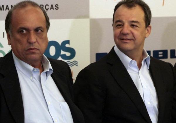 Pezão e Cabral (Foto: Campos 24h)