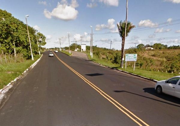 Região próxima a Universidade do Estado da Bahia (Foto: Google Maps)