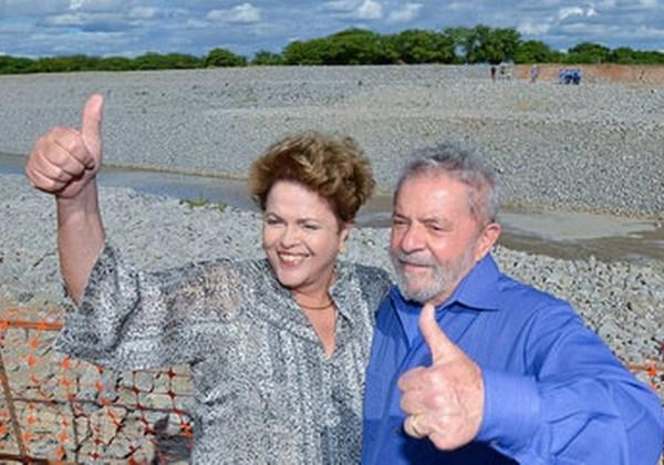 Lula e Dilma/São Francisco (Foto: Fotos Públicas)