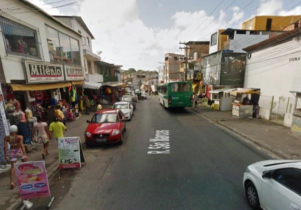 Imagem ilustrativa de um dos trechos que serão interditados (Foto: Google Street View)