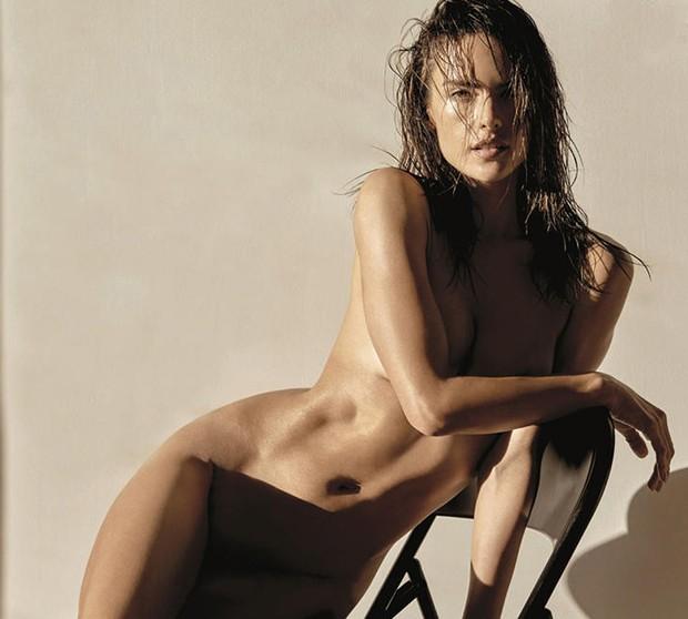 Ensaio de Alessandra Ambrosio (Foto: Reprodução/Narcisse Magazine)
