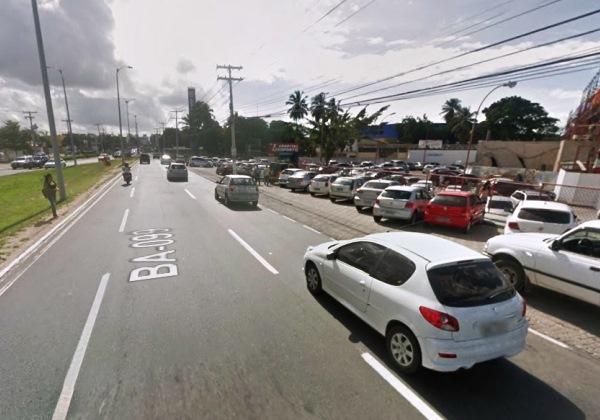 Imagem ilustrativa da BA-099 (Foto: Google Street View)