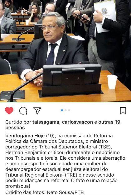 postagem-benito-gama-desembargador-deputado