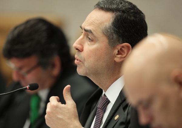 Ministro Barroso (Foto: Rosinei Coutinho / STF)