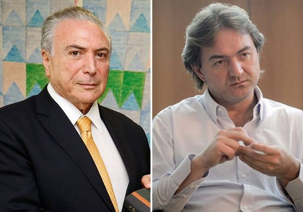 Temer/Joesley (Foto: Blog do Magno)