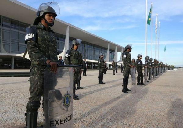 Guarda do Planalto (Jornal do Brasil)