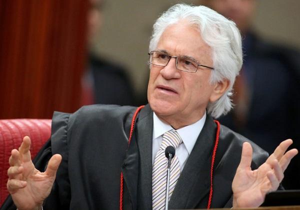Ministro Napoleão Nunes Maia Filho durante sessão plenária do TSE. Foto: Roberto Jayme/ Ascom/TSE