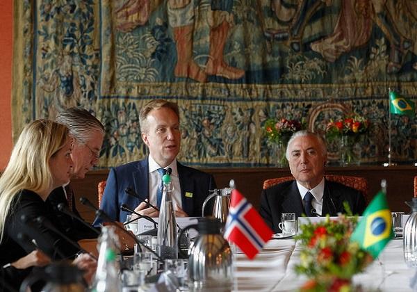 Temer encontro com investidores noruegueses. Foto: Beto Barata/PR