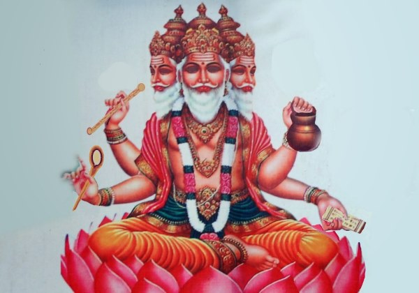 Segundo o hinduísmo, Brahma é o deus criador do universo. Foto: Demonstre.com