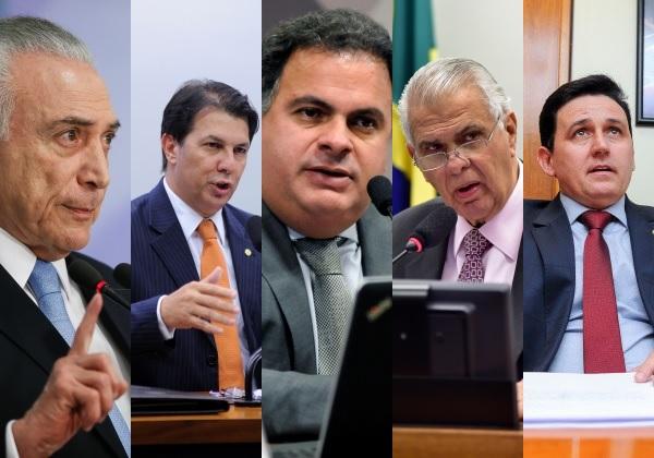 Fotos: Beto Barata/PR | Lúcio Bernardo Junior/ Zeca Ribeiro/ Câmara dos Deputados | Douglas Gomes / PRB na Câmara | Montagem: bahia.ba