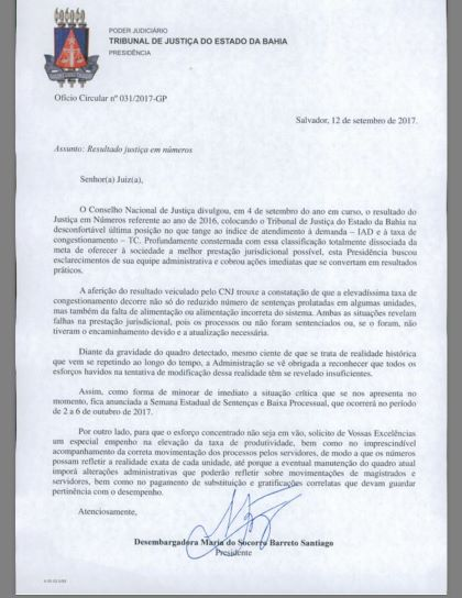 oficio_tjba_maria_do_socorro_corte_magistrados_juizes