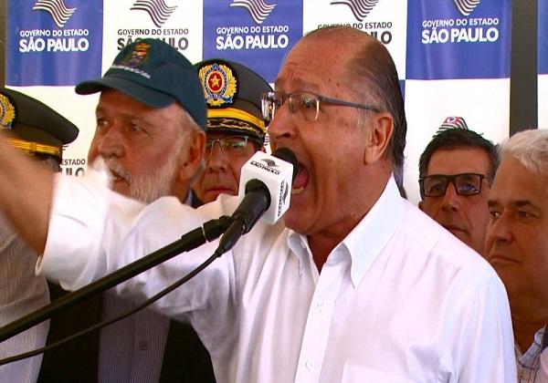 Alckmin se exalta e diz que deputado