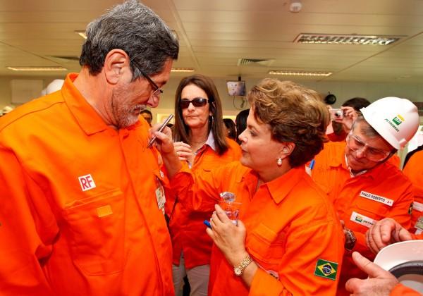Resultado de imagem para Gabrielli, Dilma e Palocci