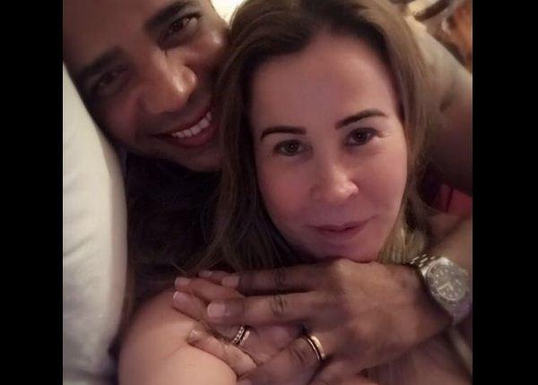 Noivo de Zilu Camargo tem amante em São Paulo, afirma colunista