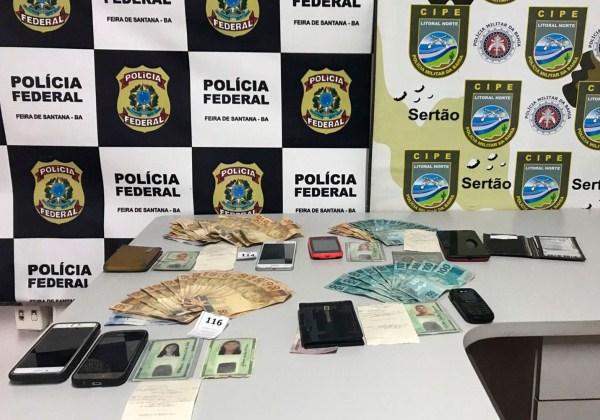 policia federal apreensao documentos falsos santo estevao