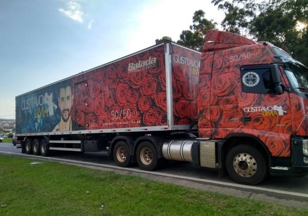 Caminhão do cantor Gusttavo Lima é assaltado em Atibaia