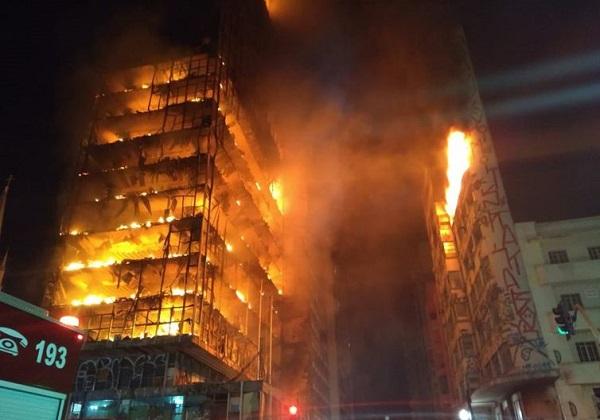 Foto: Bombeiros de SP/Direitos reservados