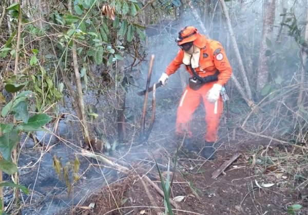 Foto: Ascom/ Corpo de Bombeiros