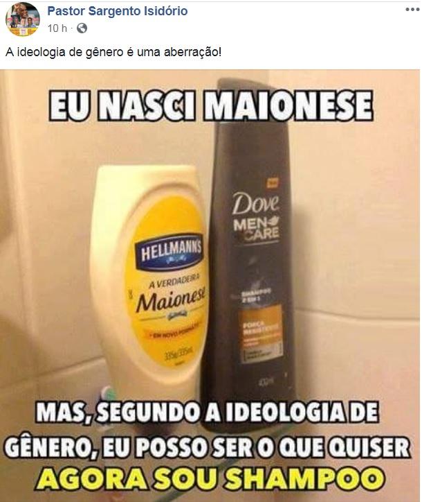 isidorio ideologia genero facebook