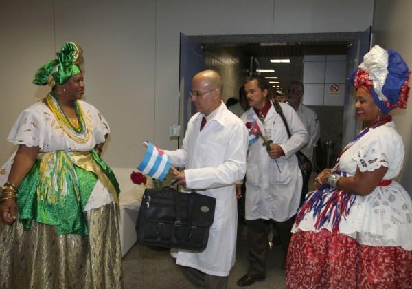 Chegada de médicos cubanos a Salvador Foto: Adenilson Nunes/GOVBA