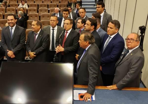 Foto: Ascom/ Liderança da Oposição- Alba