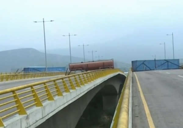 ponte venezuela foto reproducao band