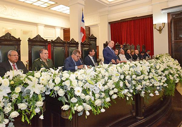 Presidente do TJBA abriu a solenidade comemorativa aos 410 anos da Corte baiana