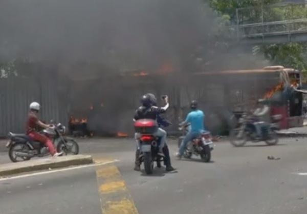 venezuela confrontos foto reproducao g1
