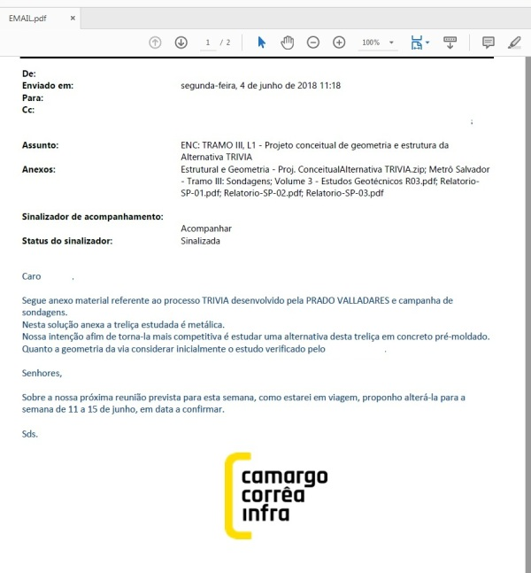 Metrô e-mail 1