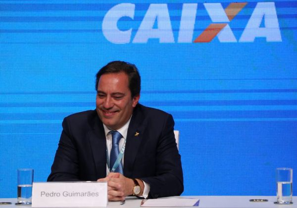 O novo presidente da Caixa Econômica Federal, Pedro Guimarães (Foto: Valter Campanato/Agência Brasil)