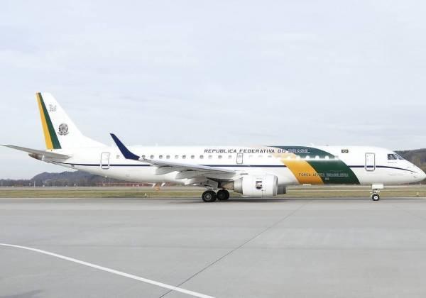 Avião da Força Aérea Brasileira usado pela Presidência (Foto: hiveminer.com)