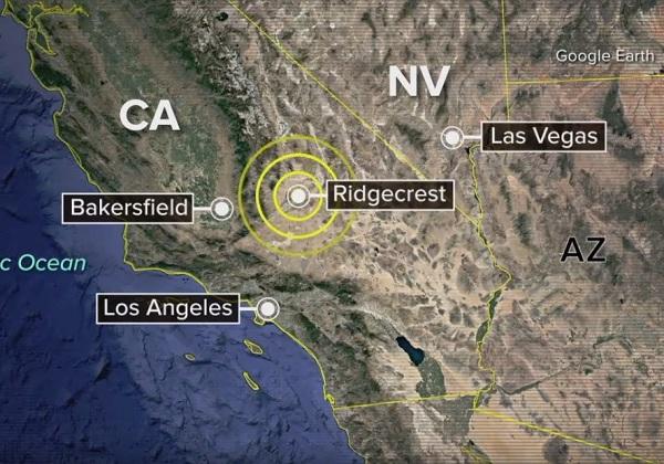 california terremoto foto reproducao youtube