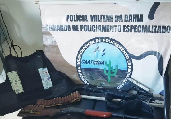 falso policial uaua foto divulgacao ssp