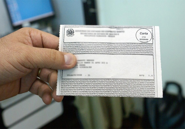 Contra-cheque de servidor público. Foto: Reprodução/TV Servidor Público
