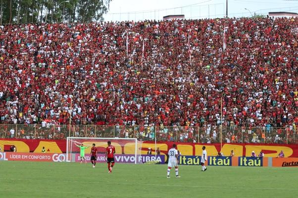 7aad089e30 Jogo contra o Atlético-PR neste domingo. (Foto  Flickr Oficial do Esporte