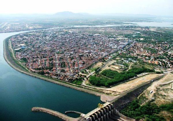 Imagem aérea do município de Paulo Afonso/BA (Foto: Divulgação)