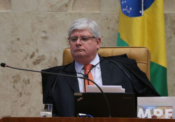 Brasília - O procurador-geral da República, Rodrigo Janot durante sessão plenária do STF de abertura do Ano Judiciário de 2017 e homenagem ao ministro Teori Zavascki (José Cruz/Agência Brasil)